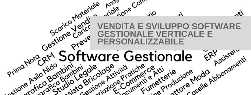 Sviluppo e vendita di software gestionali verticali